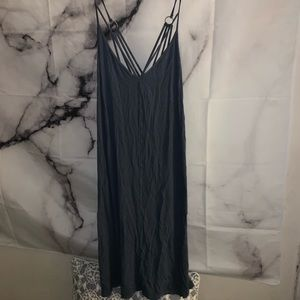 Navy American Eagle sun dress